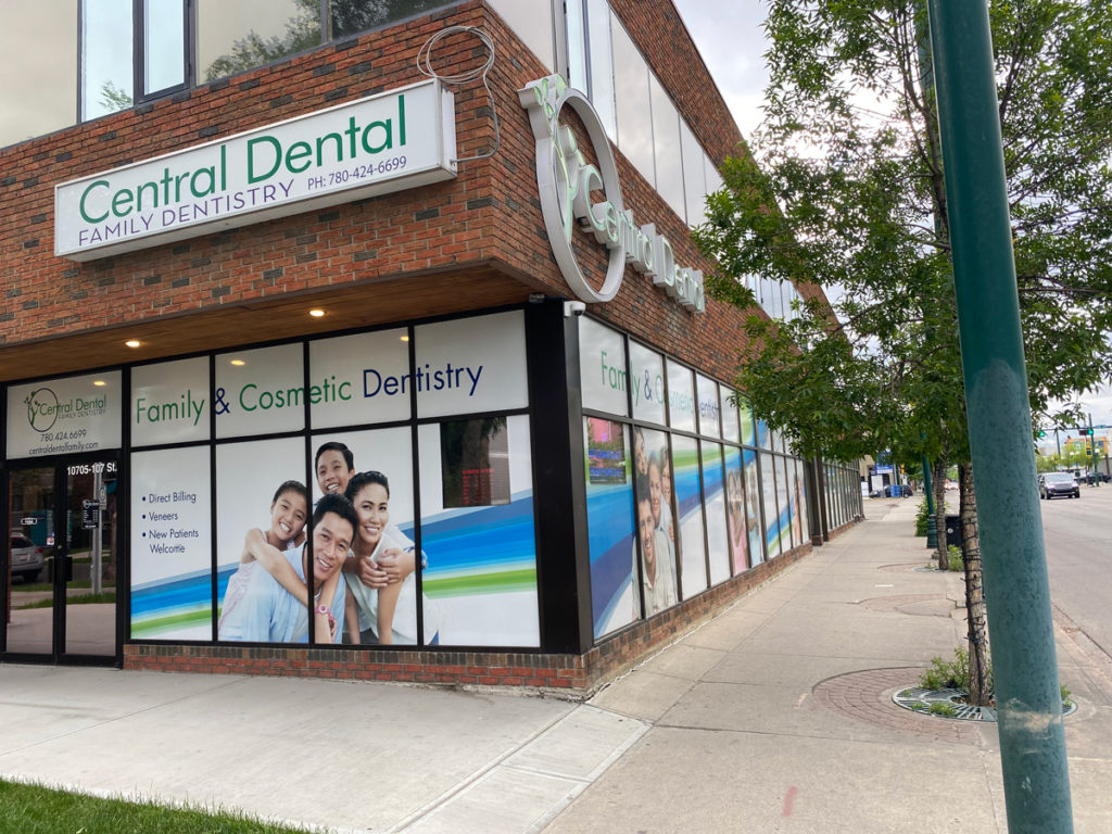 front view of Alberta dentist office